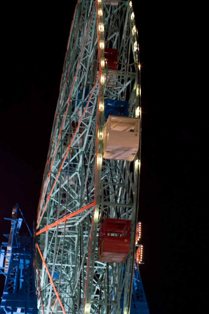 A Different View of the Wonder Wheel