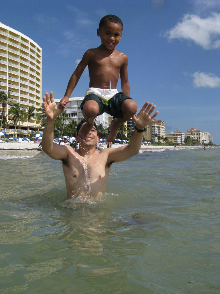 Kenny Jumping off my Shoulders