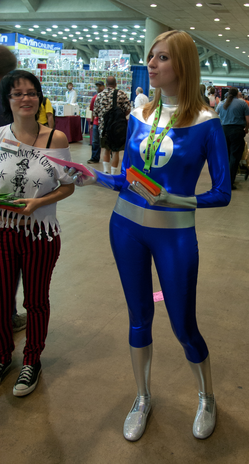 Sue Storm at Baltimore Comic-Con 2012