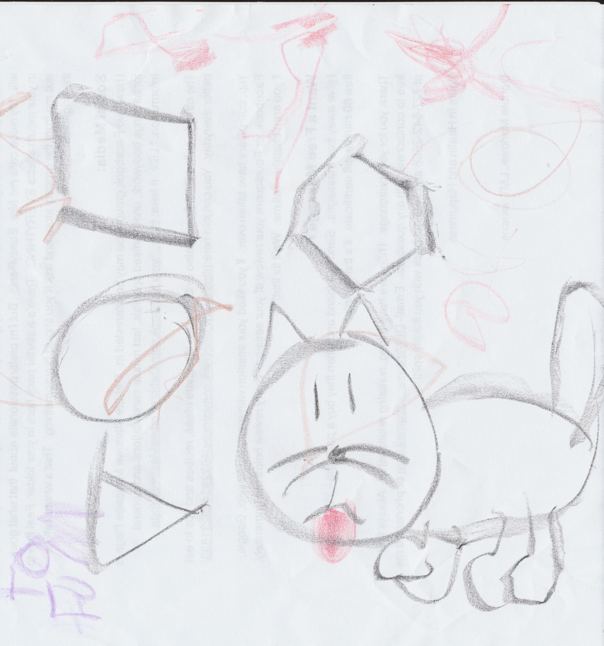 Cat and Shapes