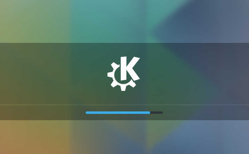 Fedora 22 KDE Beta Featured Image - Login Screen