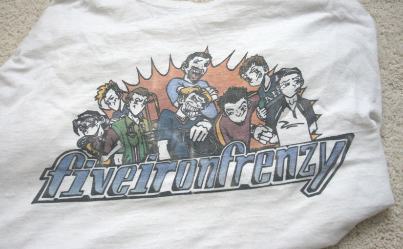 Five Iron Frenzy Manga Shirt