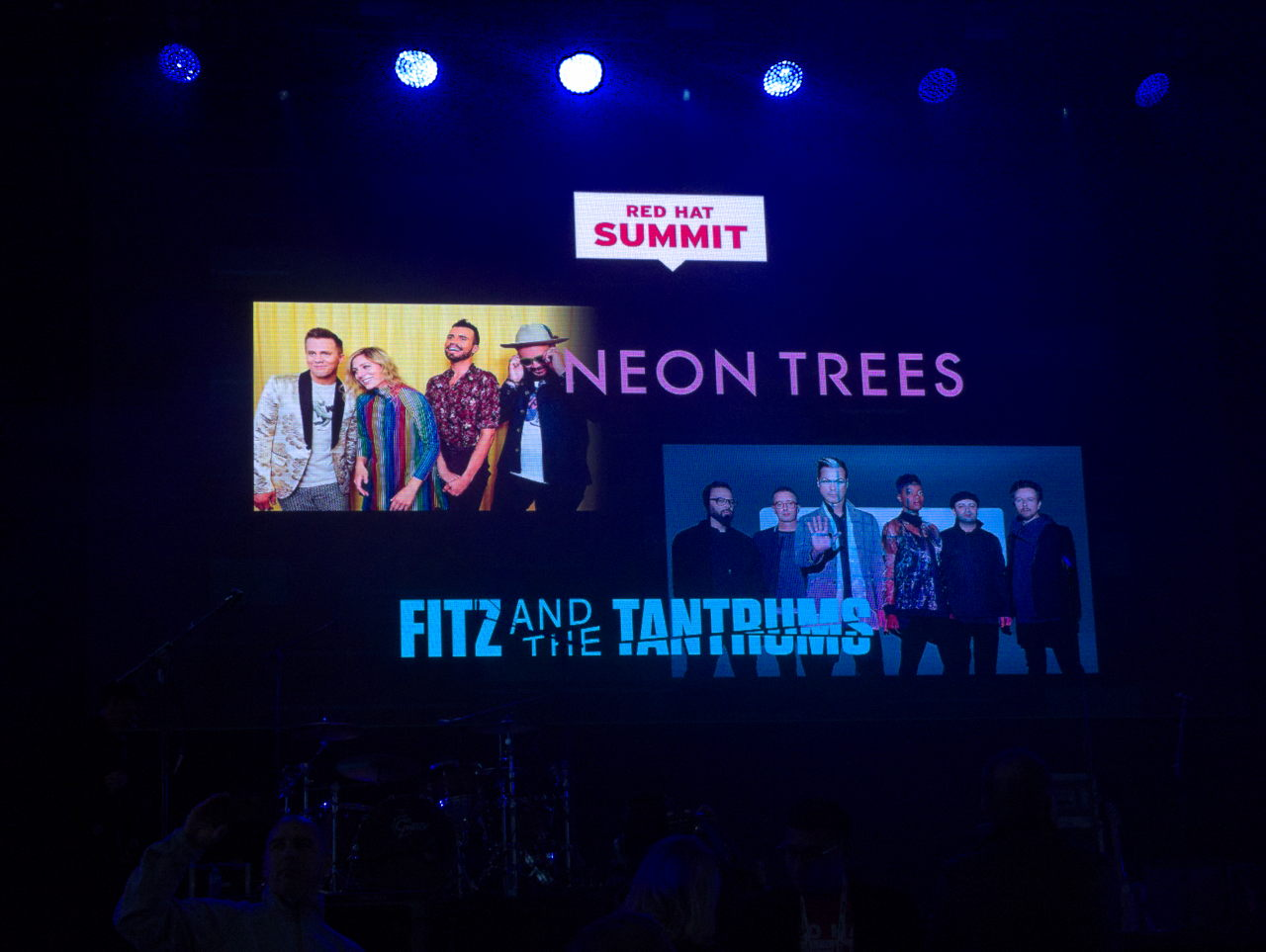 Neon Trees at Red Hat Summit 2019