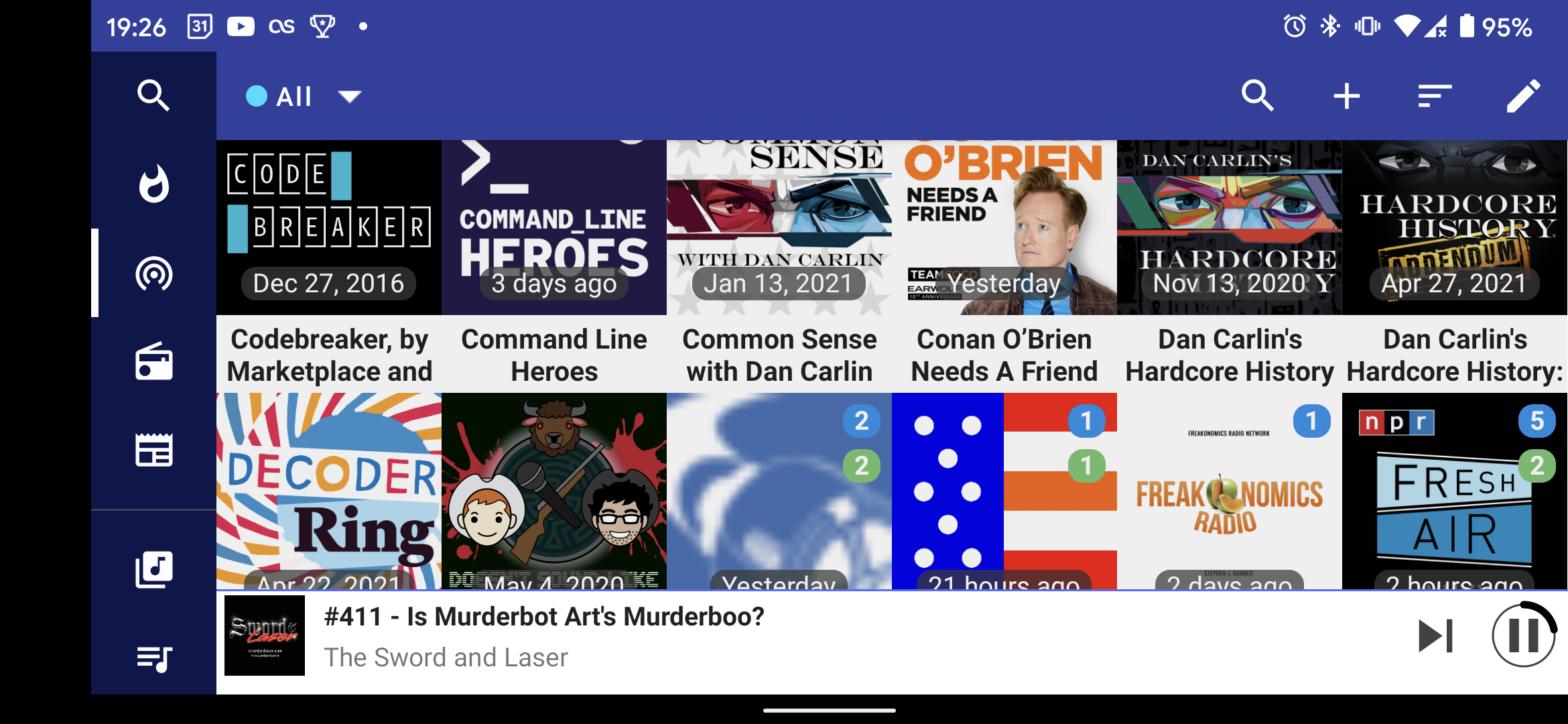 Podcast Republic Screenshot