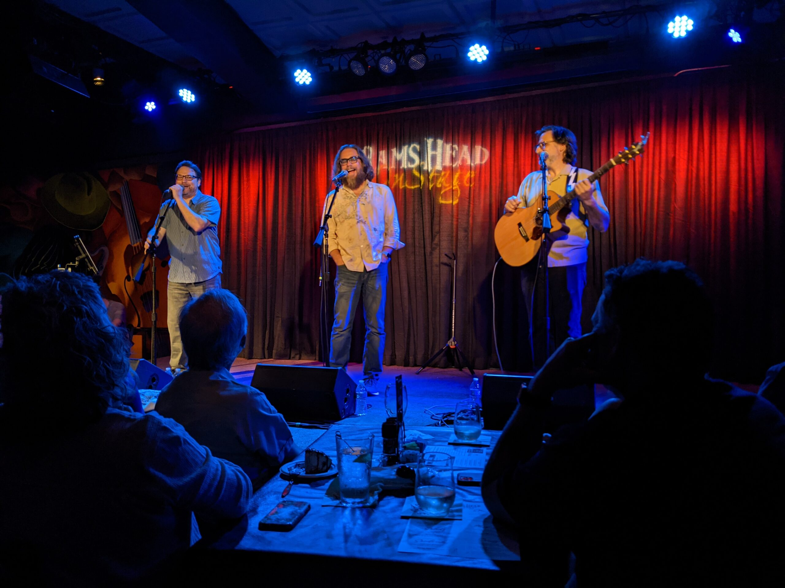 Paul and Storm and Jonathan Coulton on Stage together